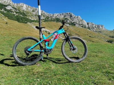 E-bike Panorama muntilor Bucegi
